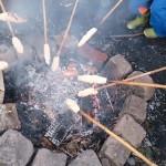 Kindergeburtstag-mit-Stockbrotbacken