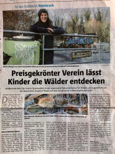 Artikel in den Ruhrnachrichten