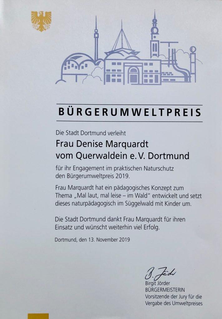 Bürgerumweltpreis 2019